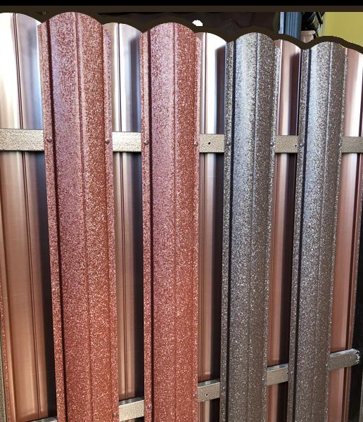 Штакетник металлический из премиум-металла КВАРЦ собственного производства